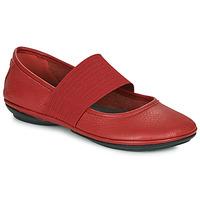 Čevlji  Ženske Balerinke Camper RIGHT  NINA Rdeča
