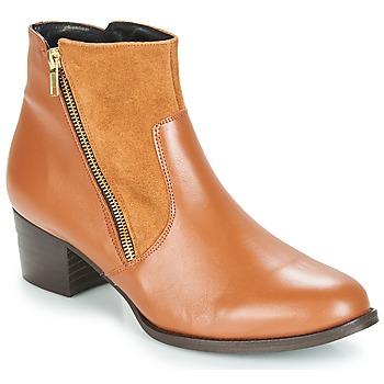 Čevlji  Ženske Gležnjarji So Size JOCASSU Kamel