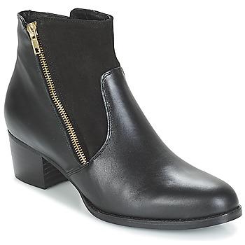 Čevlji  Ženske Gležnjarji So Size JOCASSU Črna