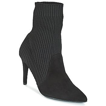 Čevlji  Ženske Gležnjarji Fericelli JACOLI Črna