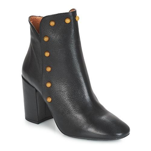 Čevlji  Ženske Gležnjarji Fericelli JATTIPALIA Črna