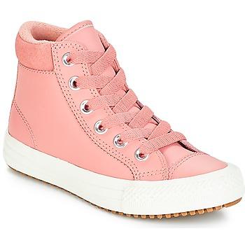 Čevlji  Deklice Visoke superge Converse CHUCK TAYLOR ALL STAR PC BOOT HI Rust / Pink / Ohnivá / Karamelová / Rust / Pink