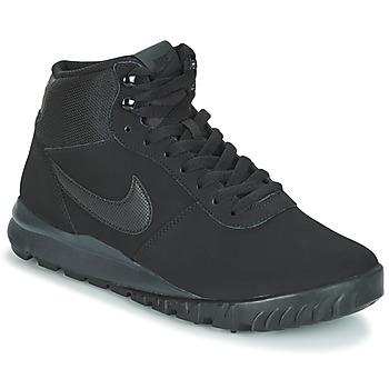 Čevlji  Moški Polškornji Nike HOODLAND SUEDE Črna