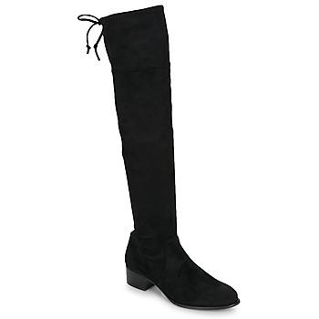 Čevlji  Ženske Visoki škornji Betty London JAZUMI Črna