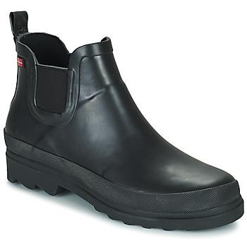 Čevlji  Ženske škornji za dež  Sanita FELICIA Črna