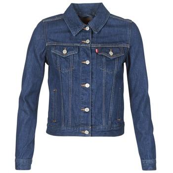 Oblačila Ženske Jeans jakne Levi's ORIGINAL TRUCKER Modra / Brut