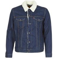 Oblačila Moški Jeans jakne Levi's TYPE 3 SHERPA TRUCKER Rockridge / Trucker