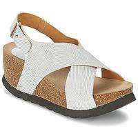 Čevlji  Ženske Sandali & Odprti čevlji Ganadora SARA Bela