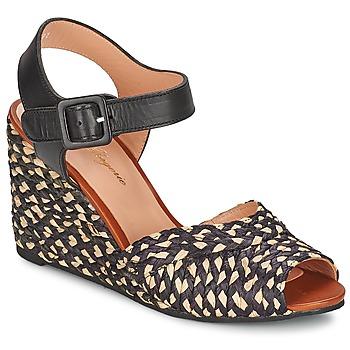 Čevlji  Ženske Sandali & Odprti čevlji Robert Clergerie DISON Črna