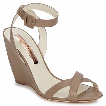 Čevlji  Ženske Sandali & Odprti čevlji Rupert Sanderson ALIGHT Kostanjeva