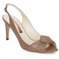 Čevlji  Ženske Sandali & Odprti čevlji Rupert Sanderson GAYNOR Svetlo-rjava