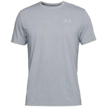 Oblačila Moški Majice s kratkimi rokavi Under Armour Threadborne Streaker SS Siva