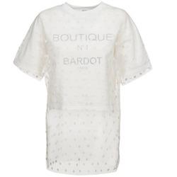 Oblačila Ženske Puloverji Brigitte Bardot ANASTASIE Kremno bela