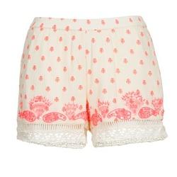 Oblačila Ženske Kratke hlače & Bermuda Brigitte Bardot ANGELINE Kremno bela