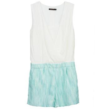Oblačila Ženske Kombinezoni Color Block ALIX Modra