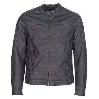 Oblačila Moški Usnjene jakne & Sintetične jakne Esprit VENI Črna