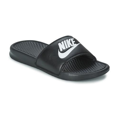 Čevlji  Moški Natikači Nike BENASSI JUST DO IT Črna