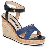 Čevlji  Ženske Sandali & Odprti čevlji French Connection LATA Modra / Džínová modř