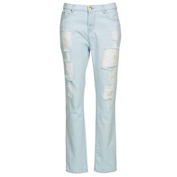 Oblačila Ženske Jeans straight Cimarron BOY Modra / Svetla