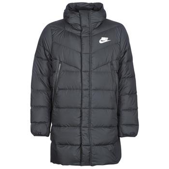 Oblačila Moški Puhovke Nike BRENLA Črna