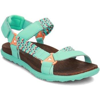Čevlji  Ženske Sandali & Odprti čevlji Merrell Around Town Sunvue Woven Zelena