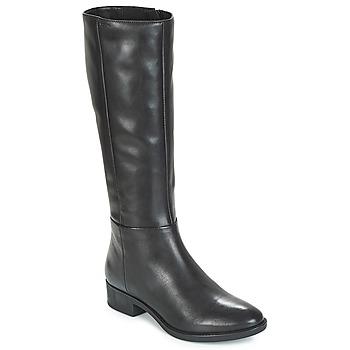 Čevlji  Ženske Mestni škornji    Geox D FELICITY Črna