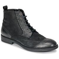 Čevlji  Moški Polškornji Geox U JAYLON Črna