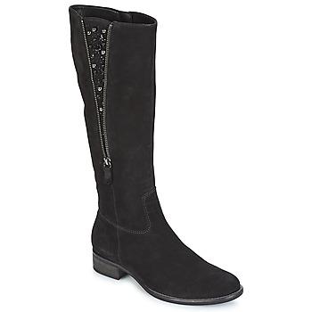 Čevlji  Ženske Mestni škornji    Gabor PARTUS Črna