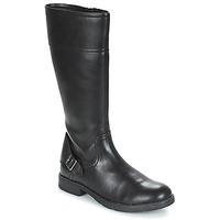 Čevlji  Deklice Mestni škornji    Geox JR SOFIA Črna