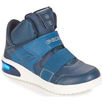 Čevlji  Dečki Nizke superge Geox J XLED BOY Modra