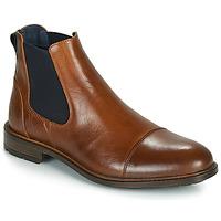 Čevlji  Moški Polškornji Casual Attitude JANDY Cognac