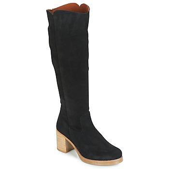 Čevlji  Ženske Mestni škornji    Casual Attitude HAPI Črna