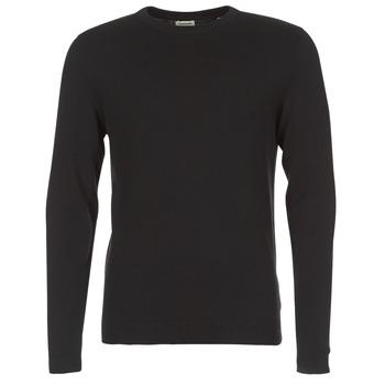 Oblačila Moški Puloverji Jack & Jones JJEBASIC Črna