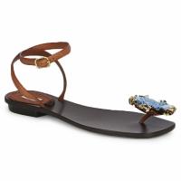 Čevlji  Ženske Sandali & Odprti čevlji Marc Jacobs MJ16131 Kostanjeva / Modra