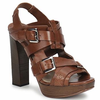 Čevlji  Ženske Sandali & Odprti čevlji Michael Kors MOWAI Kostanjeva