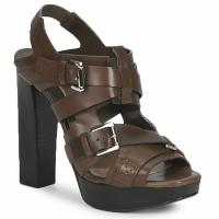Čevlji  Ženske Sandali & Odprti čevlji Michael Kors MOWAI Taupe