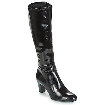 Čevlji  Ženske Mestni škornji    André GANTELET 3 Črna
