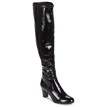 Čevlji  Ženske Mestni škornji    André PRISCA 2 Črna