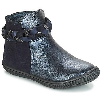 Čevlji  Deklice Polškornji André HELOISE Modra