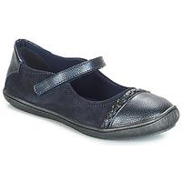 Čevlji  Deklice Balerinke André LOUISA Modra