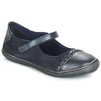 Čevlji  Deklice Balerinke André LOUISA niebieski