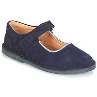 Čevlji  Deklice Balerinke André AURORA Modra