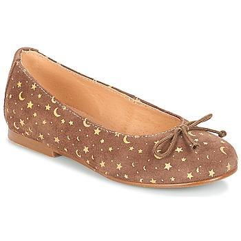 Čevlji  Deklice Balerinke André MOON Taupe