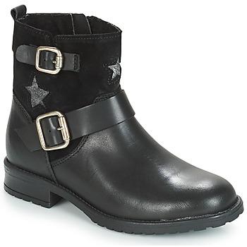 Čevlji  Deklice Polškornji André COUNTRY GIRL Črna