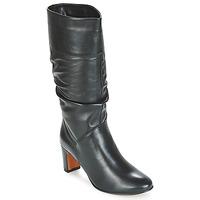 Čevlji  Ženske Mestni škornji    André SARA Črna