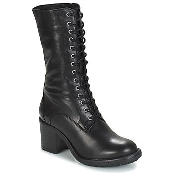 Čevlji  Ženske Mestni škornji    André DARK Črna