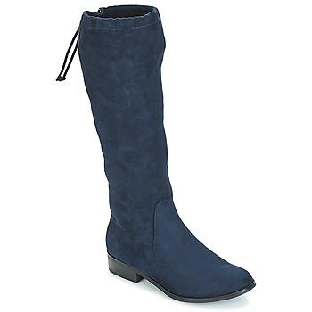 Čevlji  Ženske Mestni škornji    André ANAIS Modra