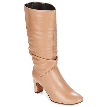 Čevlji  Ženske Mestni škornji    André SARA Bež