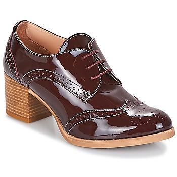 Čevlji  Ženske Čevlji Derby & Čevlji Richelieu André BIRMINGHAM Bordo