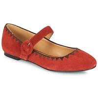 Čevlji  Ženske Balerinke André ALBOROZA Rdeča